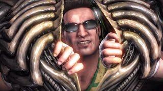 Mortal Kombat X All Fatalities On Conjure Alien (Queen Alien)