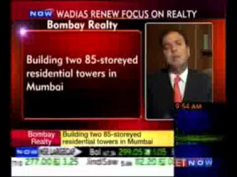 ET Now - Wadias renew focus on realty