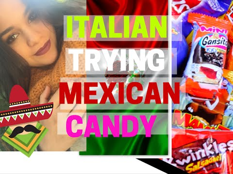 ITALIAN TRIES MEXICAN CANDY FIRST TIME** l Fátima Cantú ♡