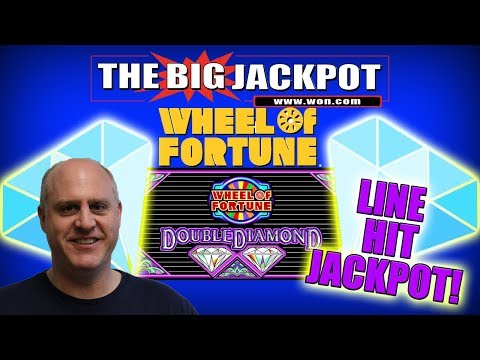 💎 $50 / SPIN 💎 DOUBLE DIAMOND WHEEL of FORTUNE LINE HIT JACKPOT! 💰