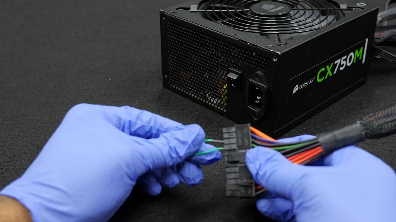 Digital Storm How To 15a Test Power Supply Wiith A Paperclip Youtube Computer Wiring