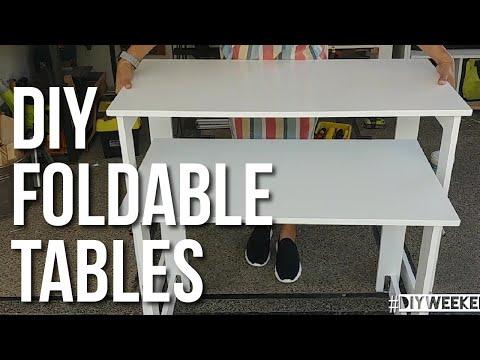 DIY Foldable Table