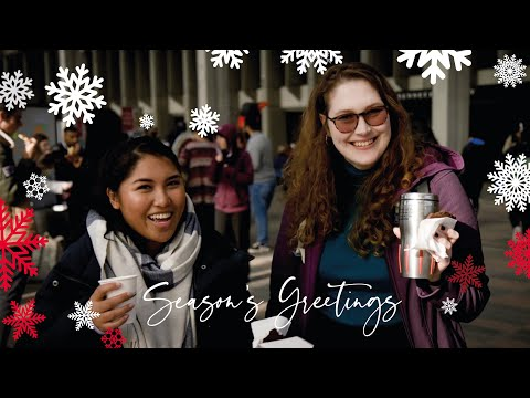 Holiday wishes from SFU