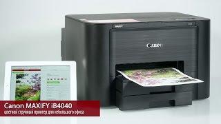 Canon Maxify iB4040 цветной струйный принтер для офиса