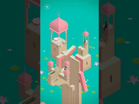 Monument valley game walkthrough level 4 - Water Palace