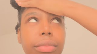 GHETTO pandemic DIY natural hair care oil routine🙄 do not try this at home🤦🏽♀️