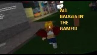 Roblox The Beginning of Fazbear Ent The RP all badges