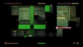 Stealth Inc. 2 A Game of Clones Speedruns - [2-7] Peer pressure - 47.53