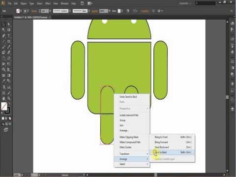 Tutorial membuat logo Android dengan Adobe Illustrator CS6_Fakultas ...