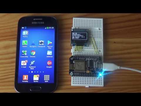ESP8266 WiFi Scanner (OLED, NodeMCU, Arduino IDE)