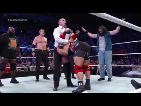 WWE TRIPLE H TOP 10 PEDIGREES.