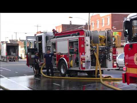6-8-18, Lehigh Ave & Almond St, All Hands Dwelling with Rescues