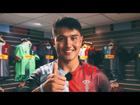 Marcus Smith takes us behind the scenes at Harlequins kit launch
