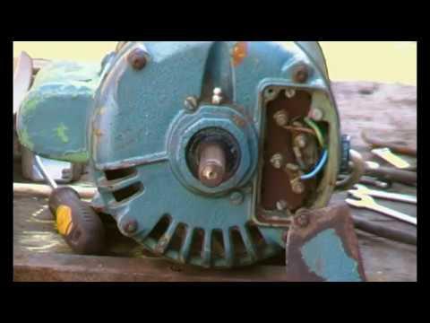 Brook Crompton single phase motor, rotation change on