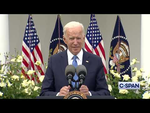 """President Biden: """"If you are fully vaccinated, you no longer need to wear a mask."""""""