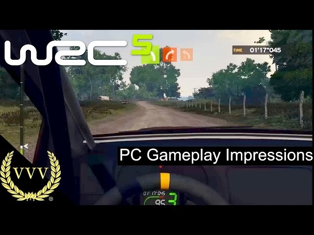 WRC 5 PC Gameplay Impressions