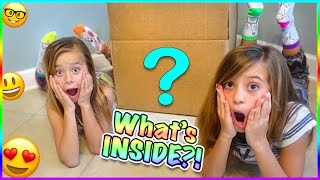 WHAT'S IN OUR MYSTERY BOX?! WE GET LittleMissMatched! SMELLYBELLY TV