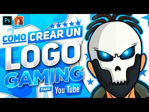 Como Crear Un LOGO GAMING Desde ANDROID Para Youtube (Dibujado) - Ps Touch