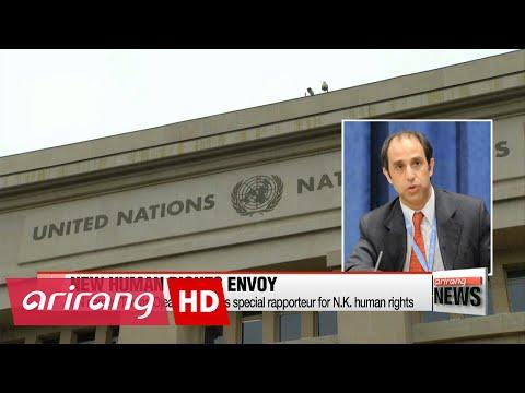 UN names Tomas Ojea Quintana as special rapporteur for N.K. human rights
