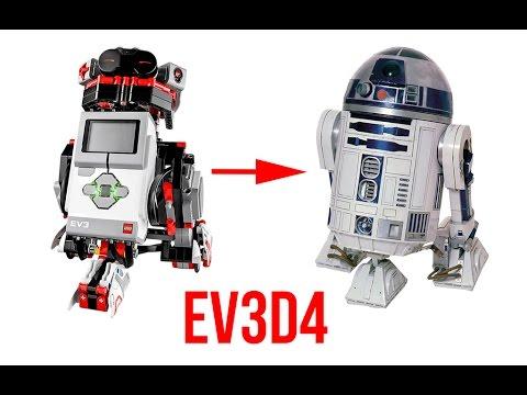 Ev3d4 Lego Mindstorm Ev3 R2 D2 Youtube
