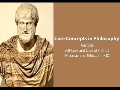 Aristotle On Self Love And Love Of Friends Nicomachean