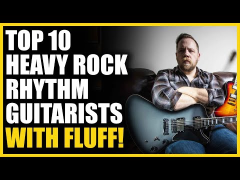 Top 10 Heavy Rock Rhythm Guitarists with Fluff!