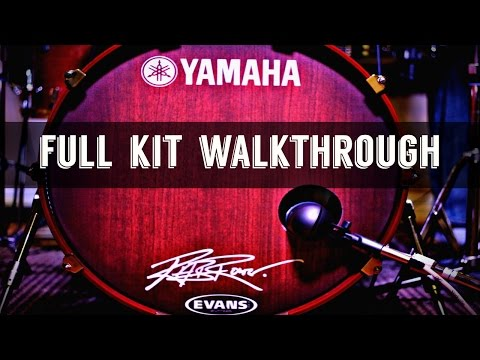 Full Drum Kit Walkthrough - *NERD ALERT!!* w/ Beatdown