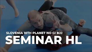 Black Belt Slovenia No Gi Brazilian Jiu Jitsu (martial art) Seminar HL