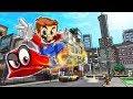 Minecraft | PORTAL TO THE SUPER MARIO ODYSSEY! (Super Mario Mod)