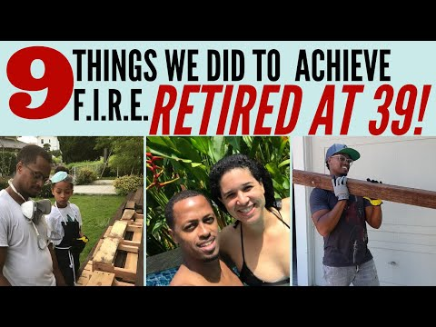 Want To Retire Early? - Do These 9 Things | FIRE Movement