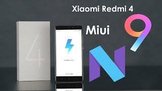 redmi 4 nougat (Android 7.1) official update MIUI Global 9.1.1.0