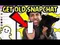 HOW TO GET THE OLD SNAPCHAT BACK EASILY 2018! WORKS FOR EVERYONE *EASIEST METHOD* LEGAL WAY EASILY