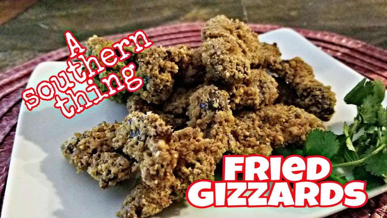 KETO - Fried Chicken Gizzards - Air Fryer Recipe - I was ...