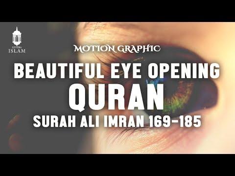 BEAUTIFUL Eye Opening Quran Recitation Surah Ali Imran 169 - 185