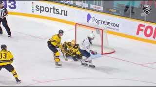Rookie Yurov feeds Beck for GWG