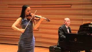 Kinga Augustyn plays Bela Bartok Roumanian Folk Dances- LIVE concert