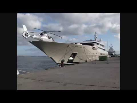 The Amazing! SuperYacht Fleet of Billionaire Roman Abramovich, including the US$ 1.5 billion Eclipse