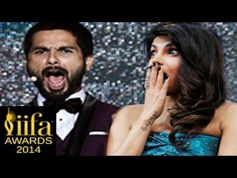 Shahid Kapoor ABUSES Priyanka Chopra at IIFA Awards 2014