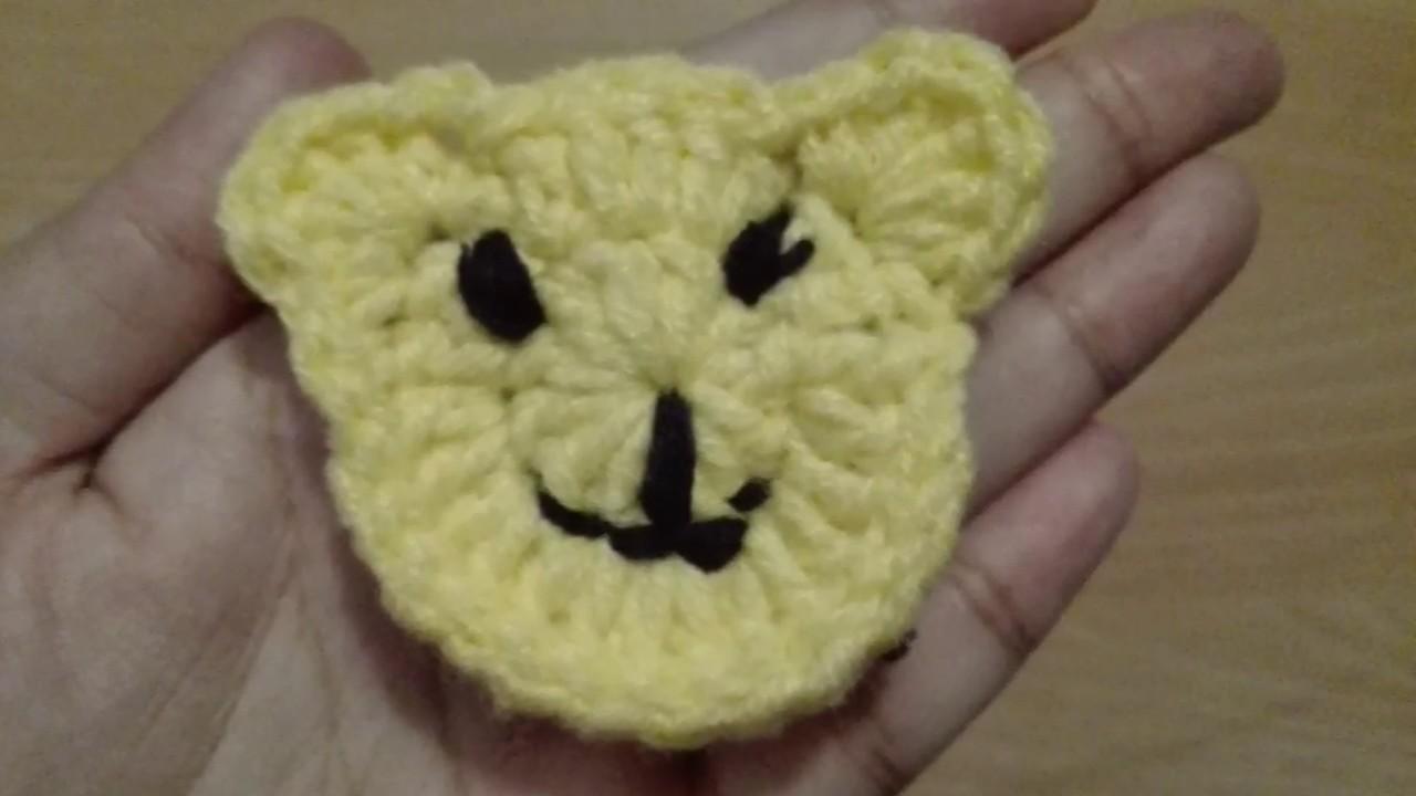 Christmas teddy bear face machine applique embroidery design kc