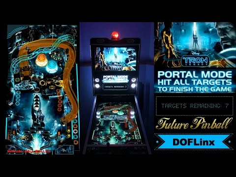 Tron Legacy (Ultimate 1 13) (SLAMT1LT) (DOFLinx - Cabinet Edition