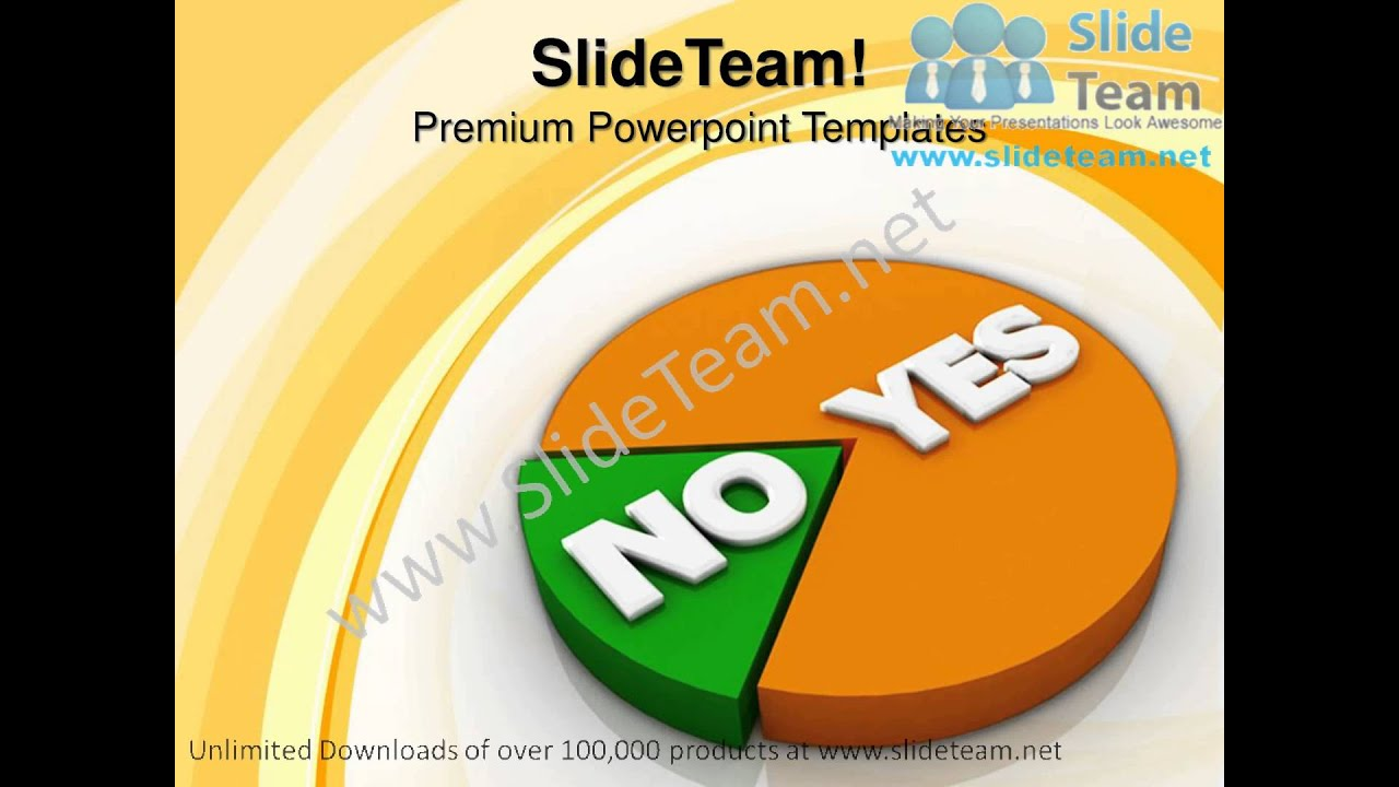 Yes and no pie chart success powerpoint templates ppt themes 1012 yes and no pie chart success powerpoint templates ppt themes 1012 slides backgrounds alramifo Gallery