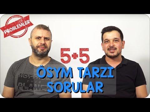 5+5 ÖSYM Tarzı Sorular | Denklem Kurma Problemleri
