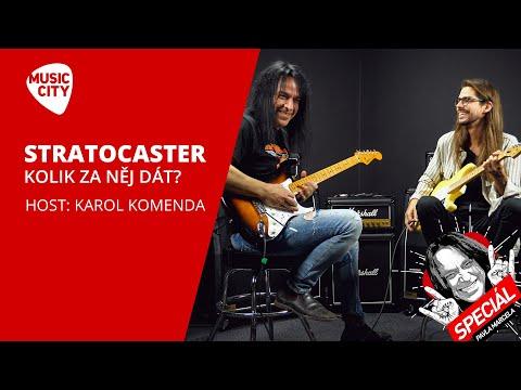 Speciál Pavla Marcela: Kolik dát za Stratocaster? Host: Karol Komenda