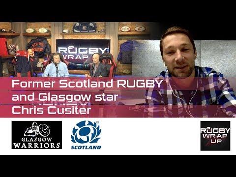 Chris Cusiter, Scotland/Glasgow Star, re Whisky, MLR, Lions, Premiership