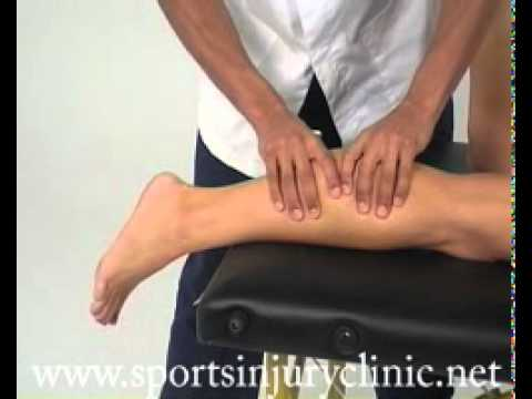 thompson test for achilles tendon ruptures youtube. Black Bedroom Furniture Sets. Home Design Ideas