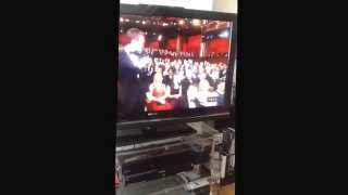Steve Carell funny moment at the Oscars 2015