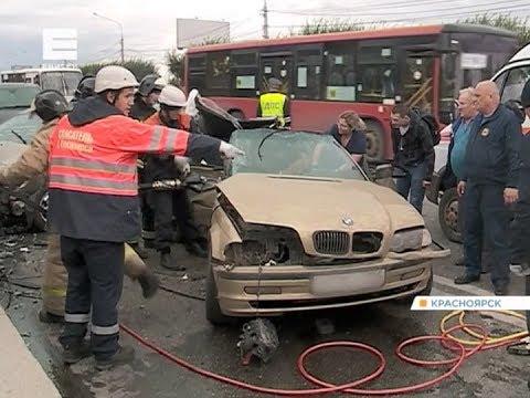 Очевидцы смертельной аварии на Коммунальном мосту рассказали, как произошло ДТП