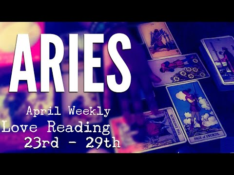 FIGHTING THROUGH THE PAIN : Aries  - April Weekly Love Reading 23rd - 29th