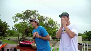 Steve-O, Ryan Sheckler & X Games Stars Watch Nitro Circus 3D