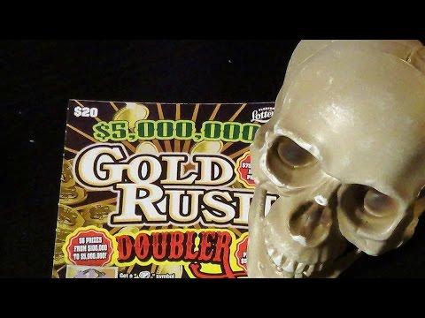 Bonus Video:  $20 GOLD RUSH DOUBLER FL Lottery Scratch-Off Ticket